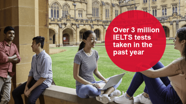 IELTS numbers rise to three million a year | IELTS Asia | British