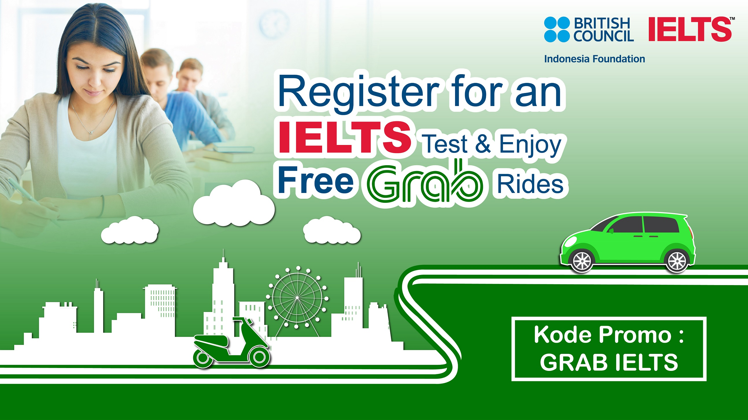 GRAB IELTS Special Offer | IELTS Asia | British Council